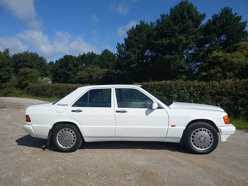 1992 Mercedes 190E Very Clean Drives Beautifully For Sale (picture 3 of 6)