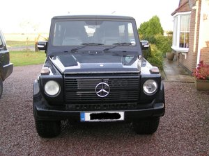 1985 Mercedes-Benz G WAGON V8 5.6 AMG SEC MOTOR AUTO NEEDS PAINT  For Sale