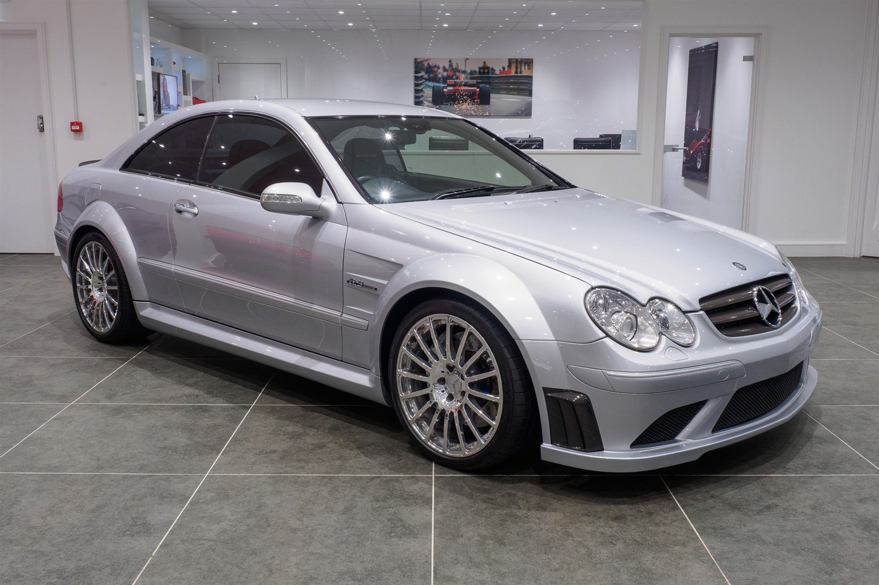 2008 Mercedes CLK63 AMG Black Series / 1 of 120 Worldwide For Sale (picture 1 of 6)