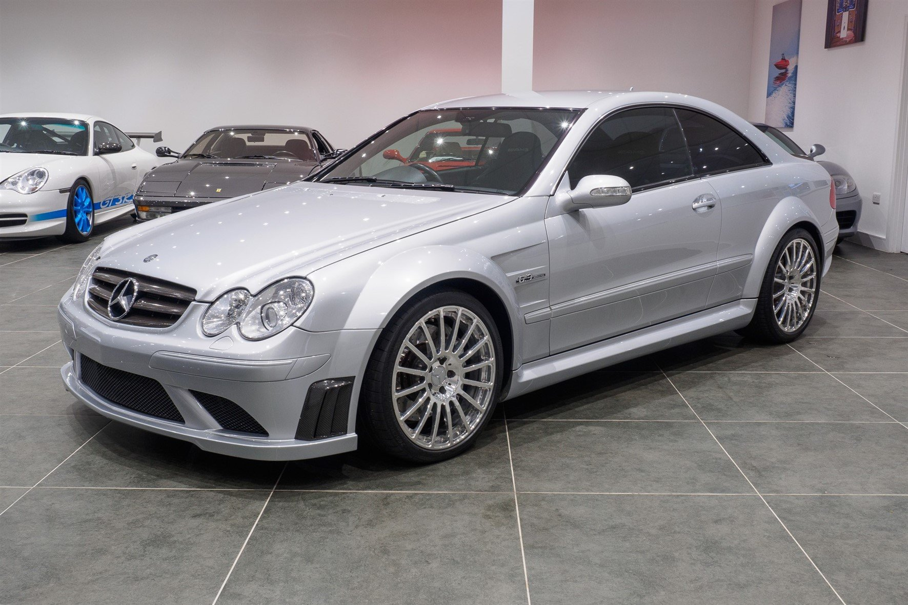 2008 Mercedes CLK63 AMG Black Series / 1 of 120 Worldwide For Sale (picture 3 of 6)