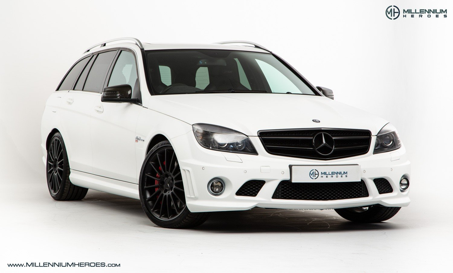 2010 MERCEDES C63 DR520 // EXCLUSIVE GB SPECIAL EDITION / 1 OF 20 For Sale (picture 2 of 6)