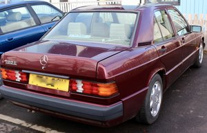 1993 Mercedes 190e low mileage For Sale