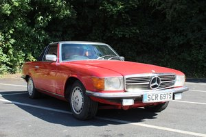 Mercedes 350SL Auto 1978 - To be auctioned 25-10-19 For Sale by Auction