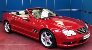 2005 Mercedes SL350 SOLD