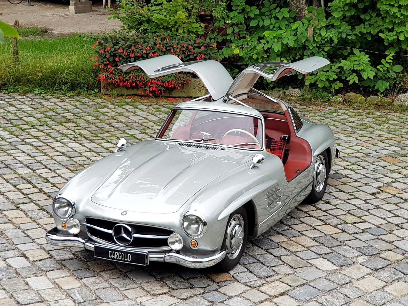 1956 Mercedes 300 SL Gullwing, Matching Numbers  For Sale (picture 1 of 6)