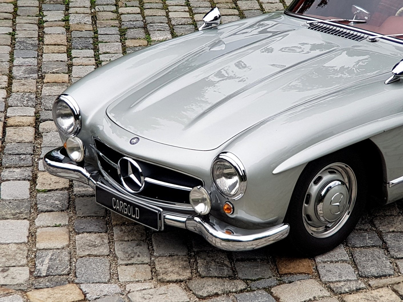 1956 Mercedes 300 SL Gullwing, Matching Numbers  For Sale (picture 5 of 6)