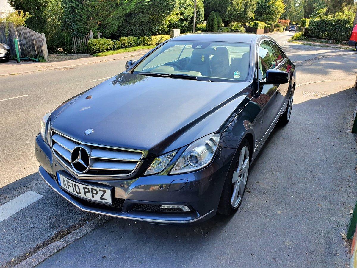 2010 Mercedes E350 Coupe SE Automatic  For Sale (picture 2 of 6)