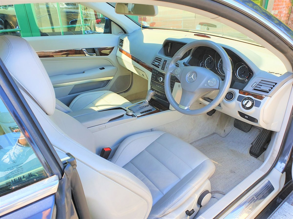 2010 Mercedes E350 Coupe SE Automatic  For Sale (picture 6 of 6)