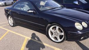 "2002 Mercedes CL500, 19"" AMG, V8, 306 BHP, Rare Colour, MOT For Sale"