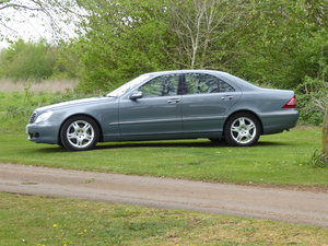 2004 Mercedes S500 Very Low Mileage Superb Example For Sale