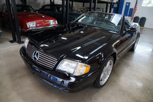 2002 Mercedes SL500 Triple Black with 33K orig miles For Sale