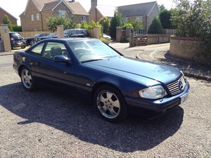 1998 Mercedes SL500 Final Edition Facelift, Panoramic, V8, R129 For Sale