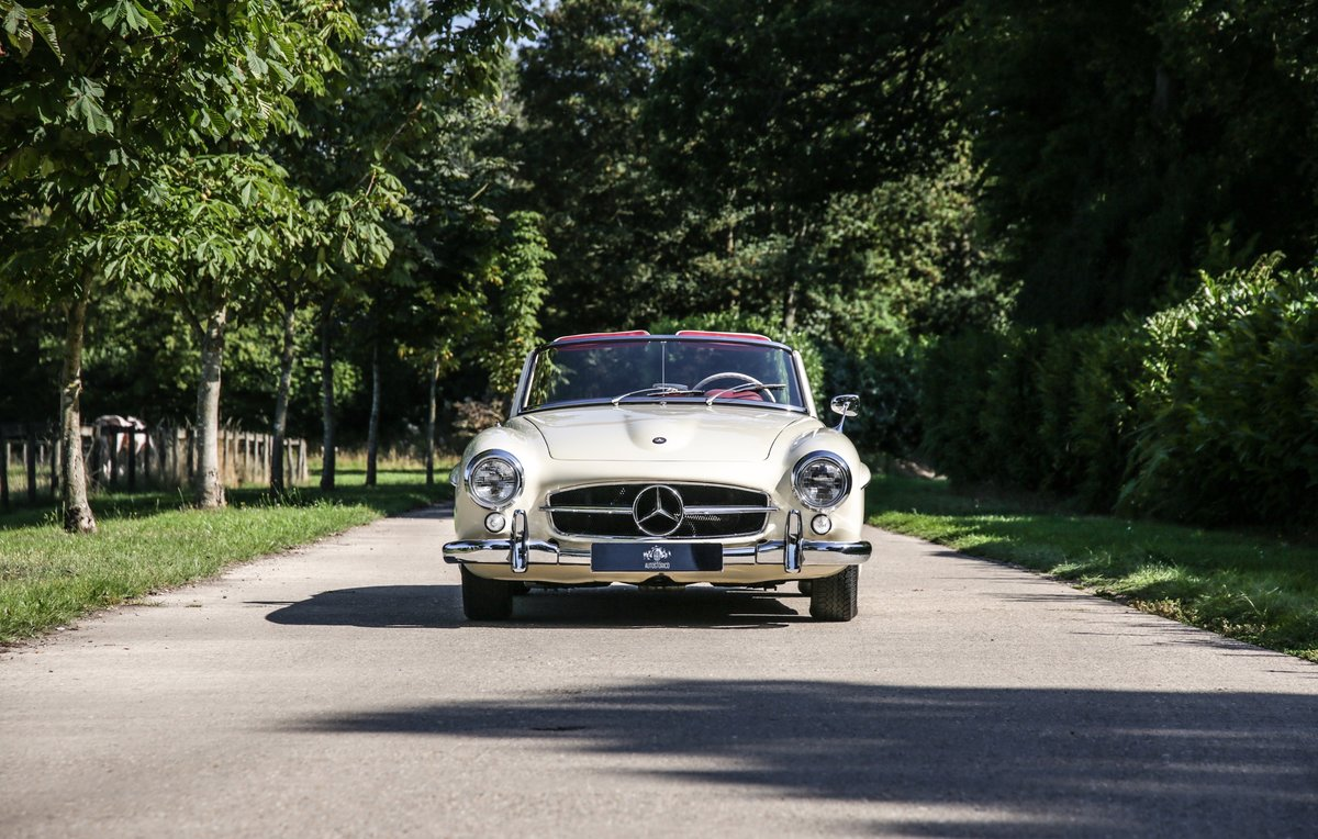 1956 Mercedes 190 SL Roadster For Sale (picture 3 of 17)