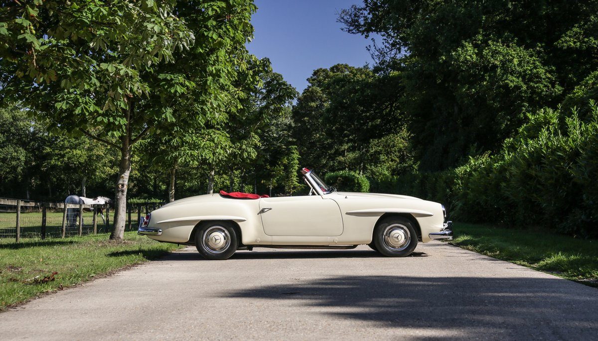 1956 Mercedes 190 SL Roadster For Sale (picture 5 of 17)