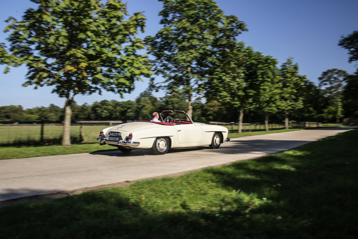 1956 Mercedes 190 SL Roadster For Sale (picture 17 of 17)