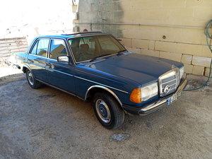1984 Mercedes 123 all original