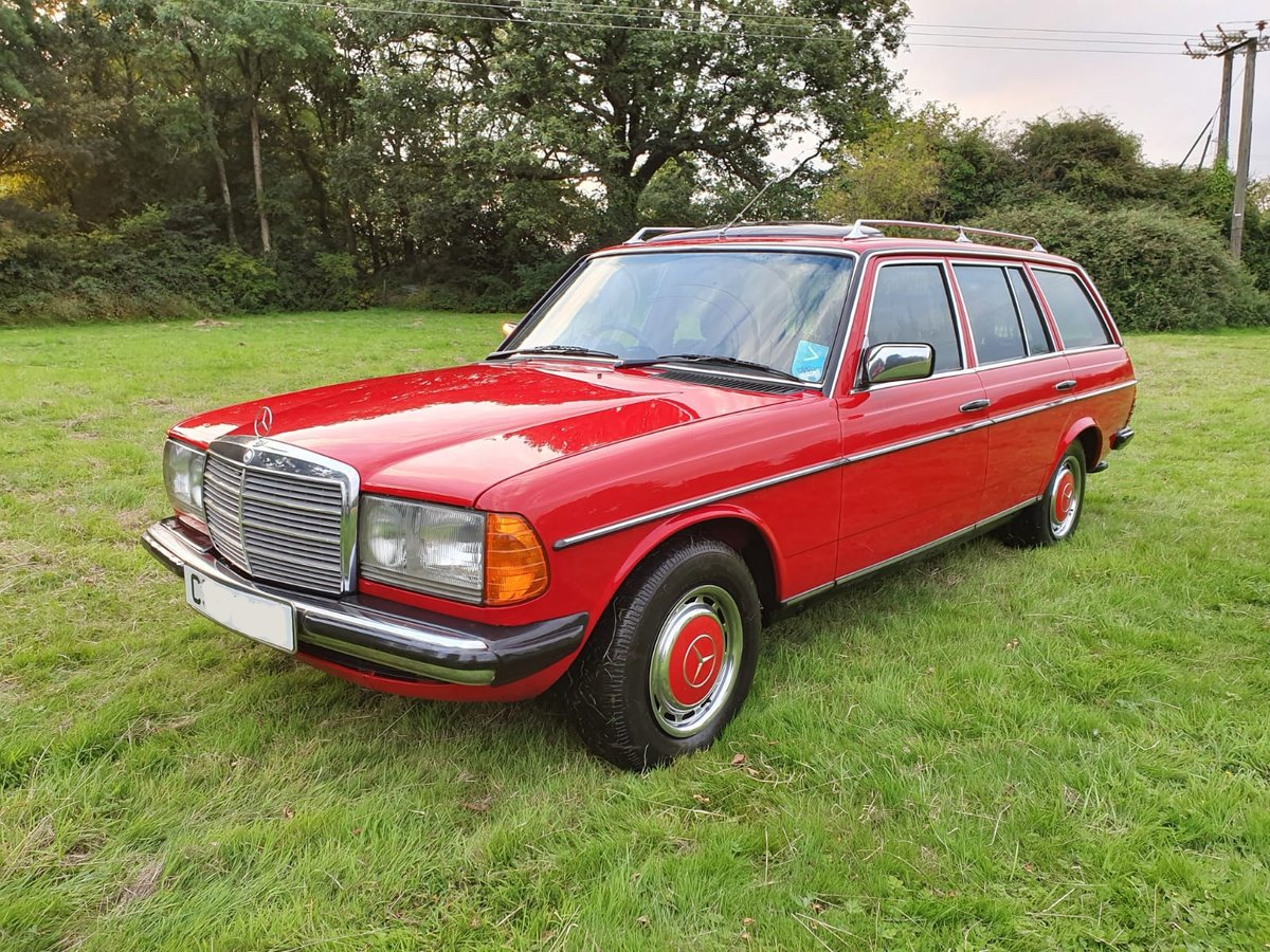 1985 Mercedes 200T W123 Estate For Sale (picture 1 of 6)