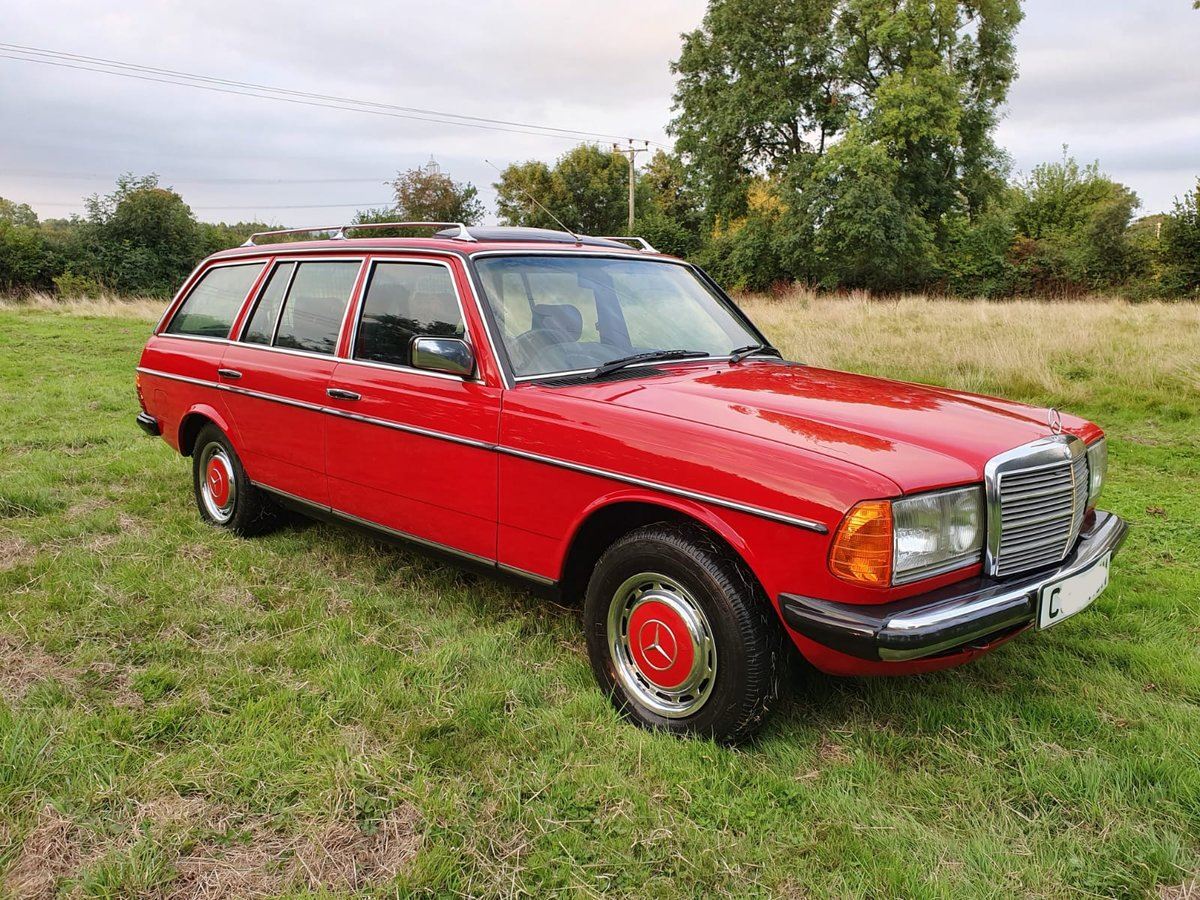 1985 Mercedes 200T W123 Estate For Sale (picture 2 of 6)