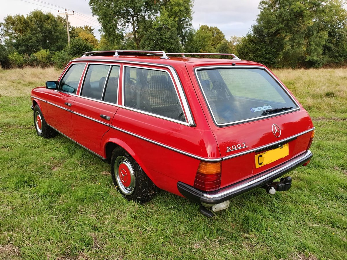 1985 Mercedes 200T W123 Estate For Sale (picture 4 of 6)