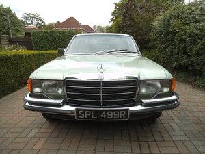 1976 Mercedes 450 SEL 4.5 V8 W116