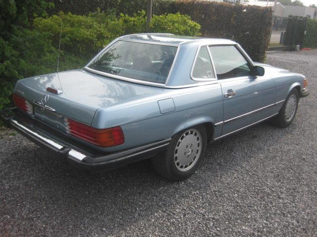 1988 Mercedes SL560 Cabrio Model 107 in Nice Diamond Bluemetallic For Sale (picture 2 of 6)