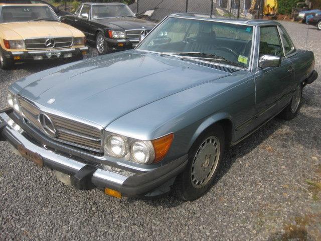 1988 Mercedes SL560 Cabrio Model 107 in Nice Diamond Bluemetallic For Sale (picture 3 of 6)
