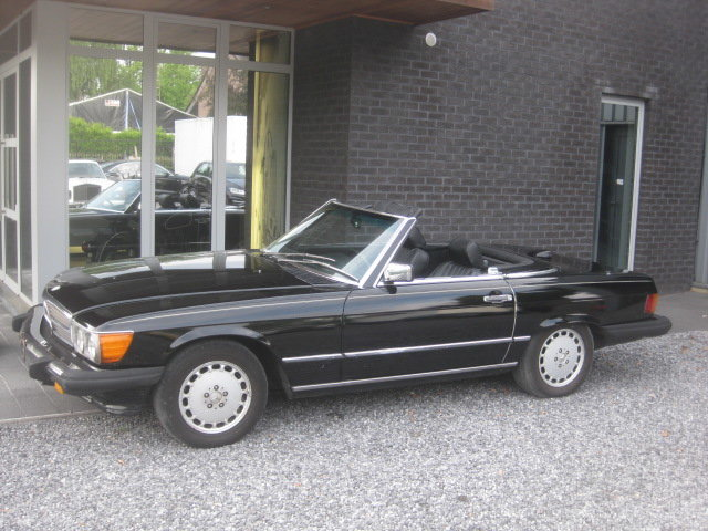 1986 Mercedes SL 560 CABRIO MODEL 107, 4PLACES ! 1OWNER ! 95868MI For Sale (picture 1 of 6)