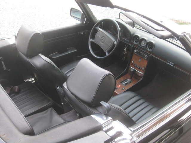 1986 Mercedes SL 560 CABRIO MODEL 107, 4PLACES ! 1OWNER ! 95868MI For Sale (picture 2 of 6)