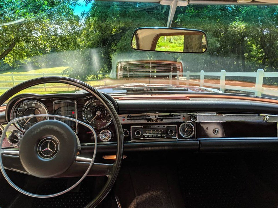 1968 Mercedes-Benz 250SL Pagoda (Laporte, IN) $74,900 obo For Sale (picture 6 of 6)