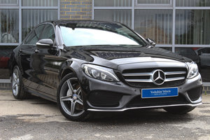 2014 14 MERCEDES BENZ C CLASS C220 BLUETEC AMG LINE AUTO For Sale