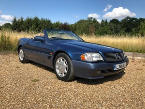 1994 Mercedes-Benz SL 320 84k miles Blue RHD For Sale