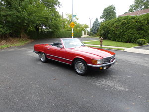 1983 Mercedes 500SL Euro Spec Nice Driver - For Sale