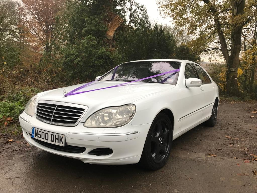 2003 S Class Mercedes Wedding Car For Sale (picture 1 of 6)