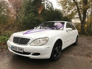 2003 S Class Mercedes Wedding Car For Sale