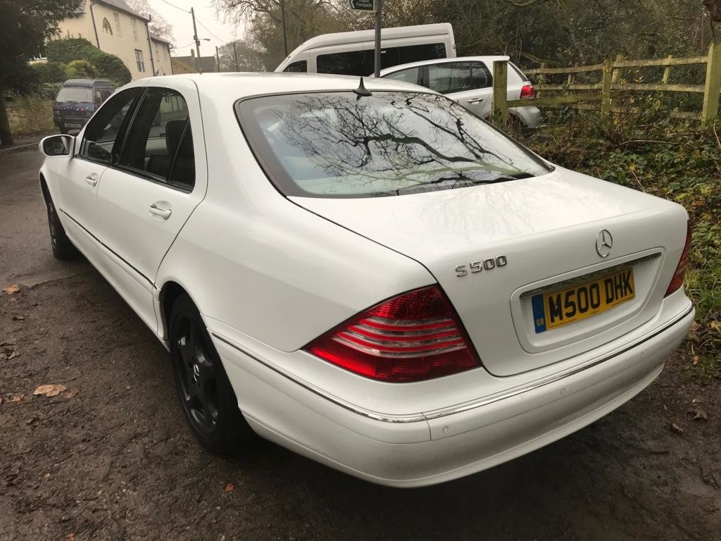 2003 S Class Mercedes Wedding Car For Sale (picture 2 of 6)