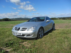 2007 Mercedes SLK200 Automatic SOLD