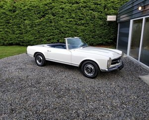 1968 Stunning, Original German, Mercedes 280SL Pagoda Auto For Sale
