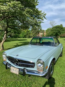 1967 250 SL Pagoda (50 years of ownership)
