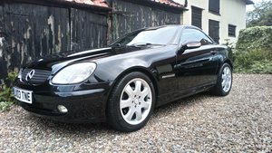 2003 SLK Roadster Low mileage / very nice specification