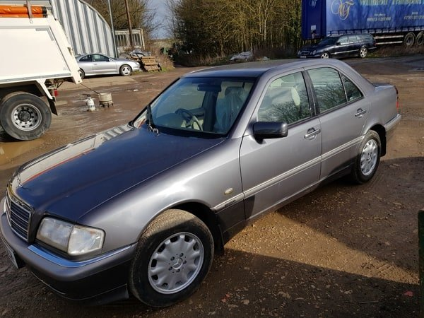 1997 Mercedes C180 Elegance 4 door saloon Automatic For Sale (picture 1 of 6)