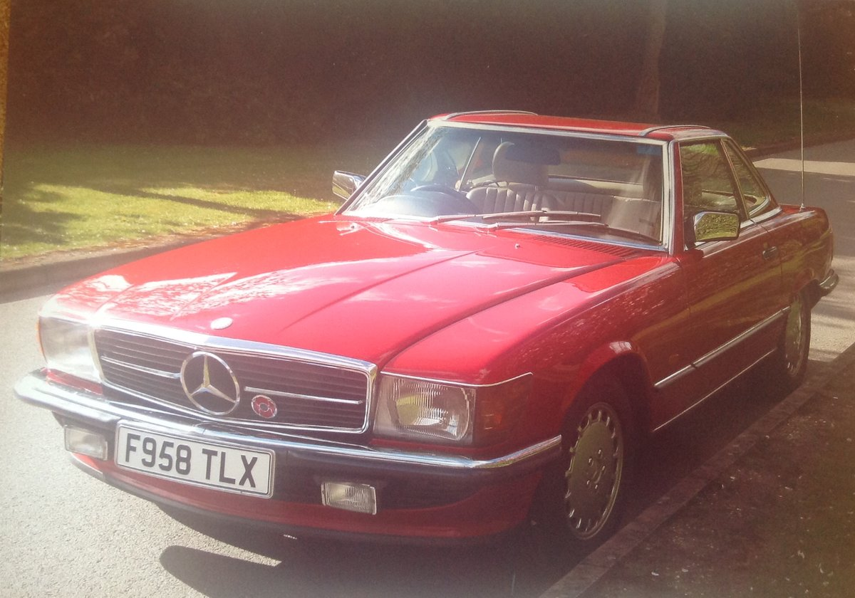1989 Mercedes Benz 300SL  Auto Classic  For Sale (picture 1 of 6)