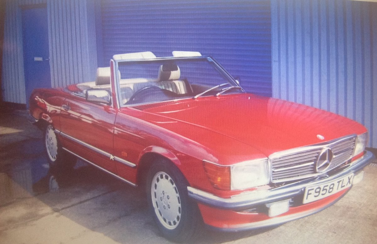 1989 Mercedes Benz 300SL  Auto Classic  For Sale (picture 5 of 6)