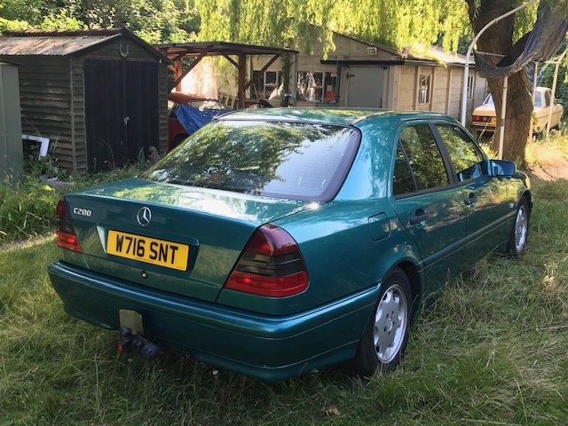 2000 Mercedes C200 Espirit Auto W202/W Reg For Sale (picture 2 of 4)