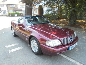 1996 MERCEDES BENZ SL 500 (109 SERIES)AUTO