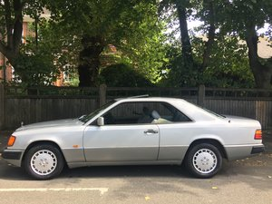 Mercedes 230CE Auto Pillarless Coupe 1990/H 1 owner MBFSH For Sale