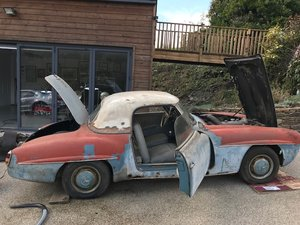 1956 Mercedes 190SL Restoration Opportunity For Sale