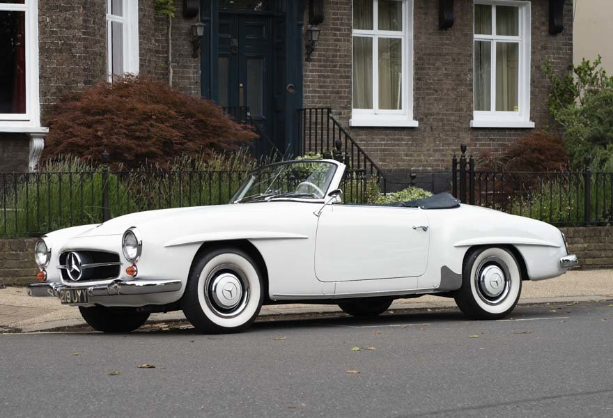 1962 Mercedes 190 SL Roadster (LHD) for sale in London For Sale (picture 1 of 20)