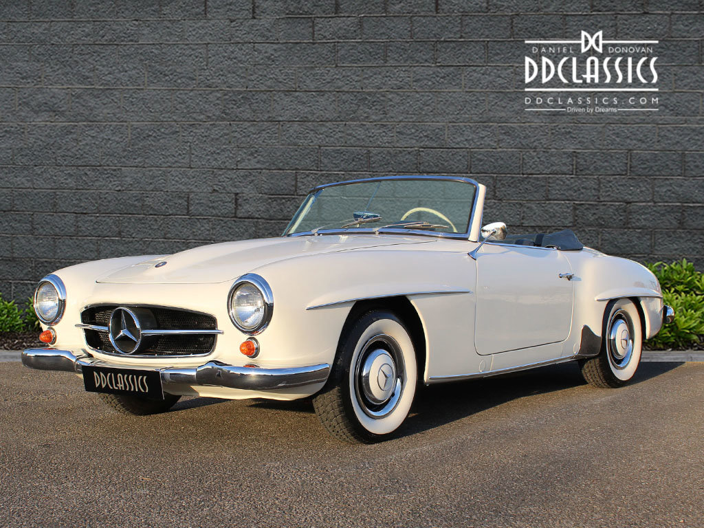 1962 Mercedes 190 SL Roadster (LHD) for sale in London For Sale (picture 2 of 20)