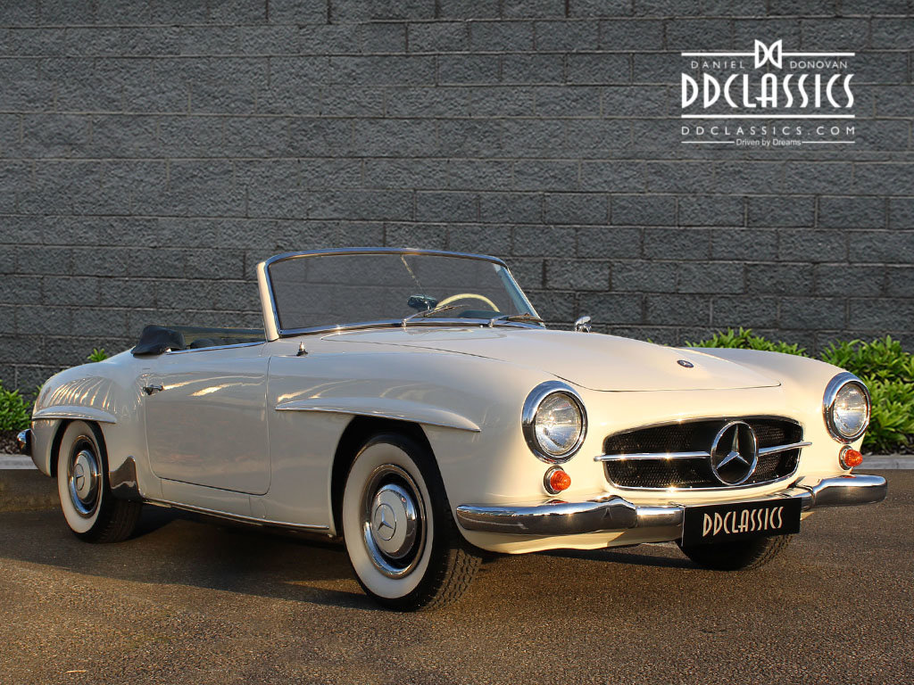 1962 Mercedes 190 SL Roadster (LHD) for sale in London For Sale (picture 3 of 20)