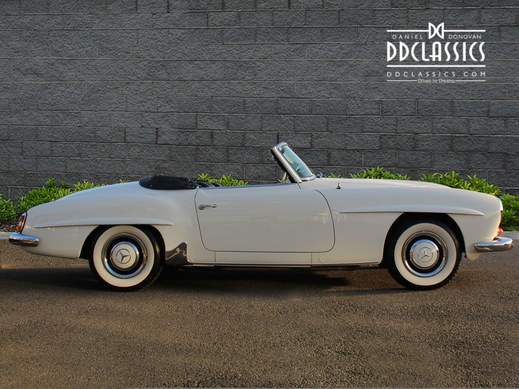 1962 Mercedes 190 SL Roadster (LHD) for sale in London For Sale (picture 6 of 20)